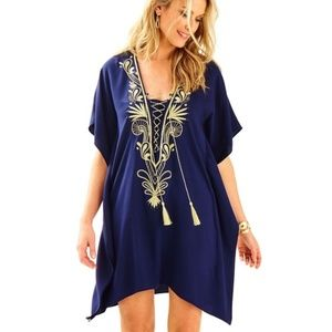Lilly Pulitzer | Chai Embellished Caftan Dress